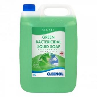 GREEN BACTERICIDAL LIQUID SOAP