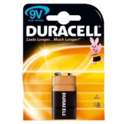 9V DURACELL BATTERIES