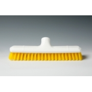 HYGIENE DECK SCRUBBER YELLOW