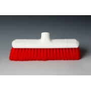 HYGIENE BROOM HEAD SOFT RED 12""