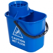 PLASTIC MOP BUCKET BLUE