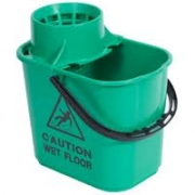 PLASTIC MOP BUCKET GREEN