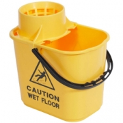 PLASTIC MOP BUCKET YELLOW