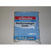 VILEDA MEDIUMWEIGHT CLOTH BLUE