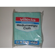 VILEDA MEDIUMWEIGHT CLOTH GREEN