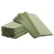 C-FOLD TOWEL GREEN RECYCLED