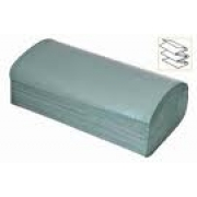 INTERFOLD HAND TOWELS GREEN